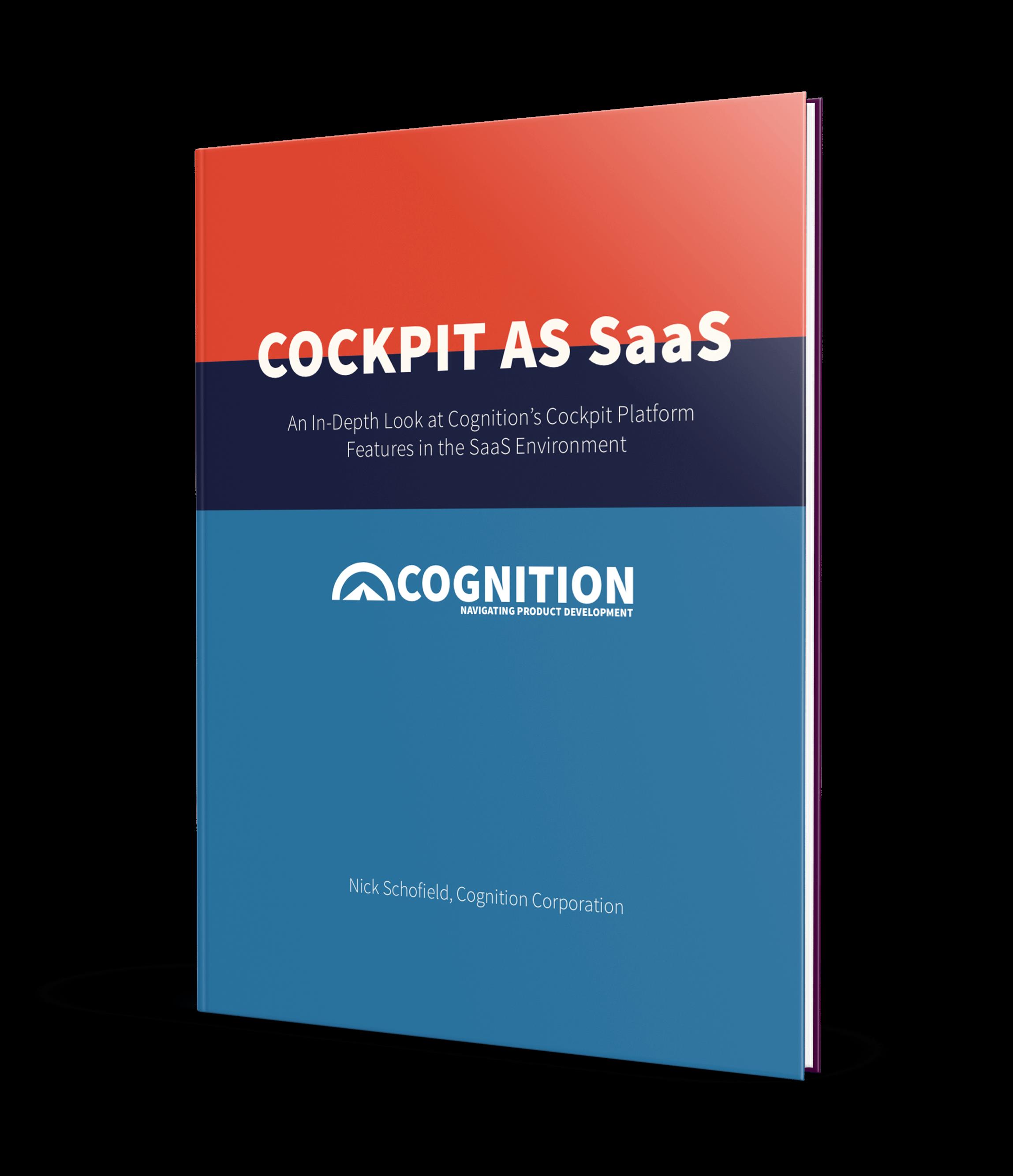 Cognition Corporation White Paper: Cockpit as SaaS