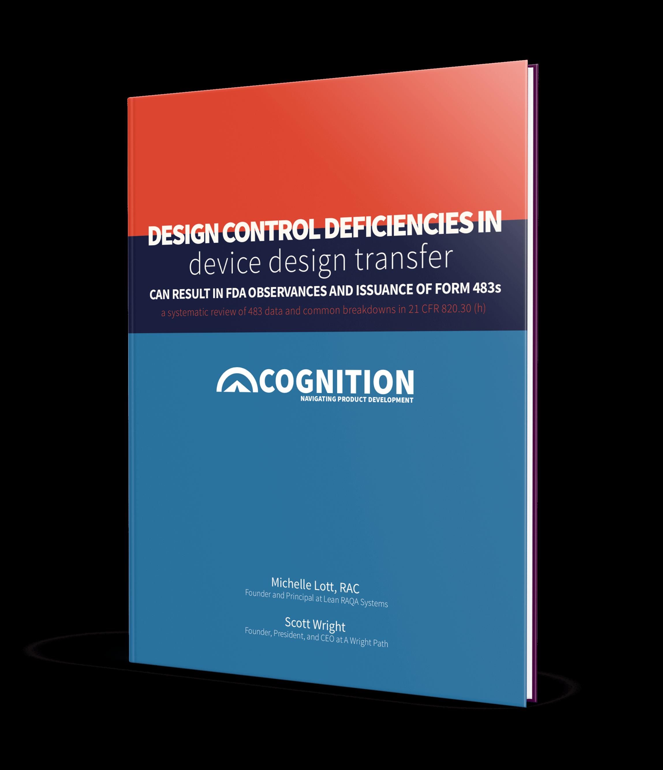 Cognition Corporation Design Controls White Paper Series: Part 6 - Design Transfer